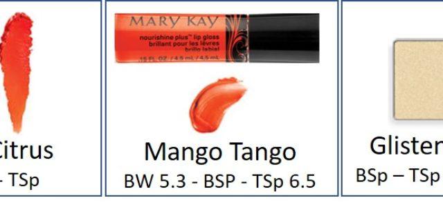 Mary Kay Bright Spring/True Spring Cosmetics